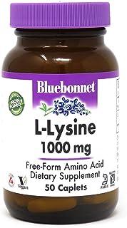 Bluebonnet Nutrition L-Lysine 1,000 mg - 50 Caplets/159 g
