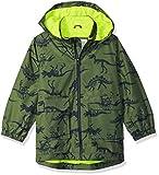 Carter's Boys' Toddler Favorite Rainslicker Rain Jacket, Green Dinosaur Print, 3T