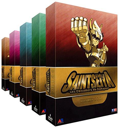Saint Seiya (Les Chevaliers du Zodiaque) - Intégrale - Pack 5 Coffrets (19 DVD)