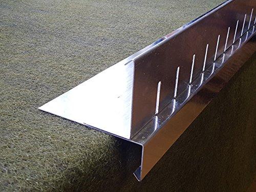 Teichbauzentrum Sankt Julian Kiesfangleisten Aluminium für Dachabdichtung Flachdach Dach Gründach 35,90 €/ldm