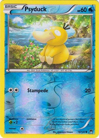 Pokemon - Psyduck (16/122) - XY Breakpoint - Reverse Holo