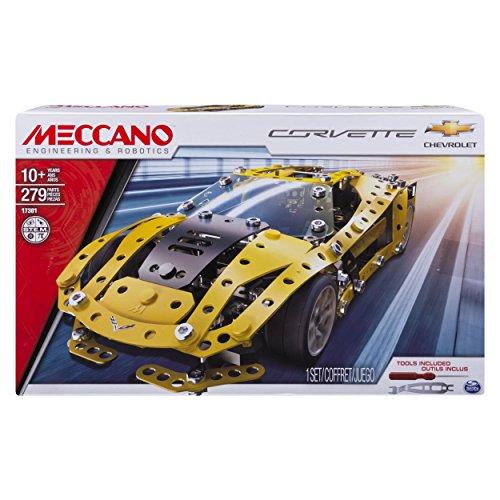 Meccano 6036477 - Auto Sportiva - Chevrolet Corvette Z06, 279 pz.