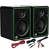 Mackie CR3-X Active 3' Creative Reference Monitors - 50 W Computer Speakers perfect for DJ Production, Home Studios, Content Creators, Gaming and Listening to Music