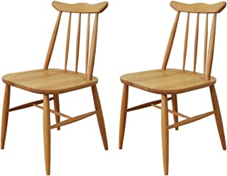 ISSEIKI ダイニングチェア 2脚セット チェア 北欧 木製 アルダー 椅子 無垢 おしゃれ NORN CHAIR 2SET