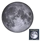 1000PCS Round Moon Surface Jigsaw Puzzle - Challenge Level Moon Jigsaw Puzzle for Adults or Teenagers. Great for Development of Patience and Fine Motor Skill as A Birthday (Moon)