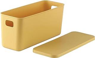 DDH Boîte de Rangement (2pcs), Type étroite Boîte de Rangement de ménage Souchail Titulaire Snack Snack Panier Panier de R...