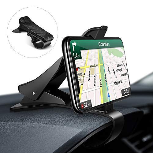 Modohe Supporto Auto Smartphone Universale Cruscotto Porta Cellulare Auto per iPhone11 Pro/11/Xs Max/Xs/Xr/X/8/7/6s Plus, Galaxy S10 Note 10+ Huawei M