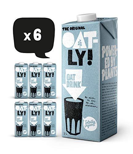 Oatly Original Oat Drink 1 Litre (Pack of 6)