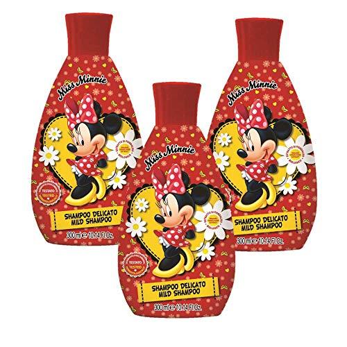 Set 3x300ml shampoo Minnie Naturaverde Kids