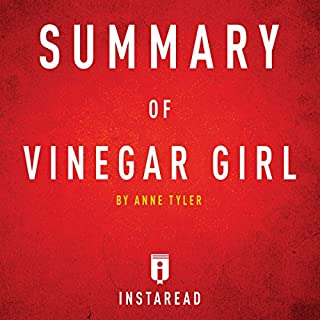 Summary of Vinegar Girl by Anne Tyler | Includes Analysis audiobook cover art