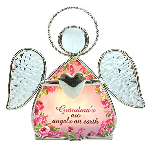 Grandmas Are Angels on Earth Tealight Candlehodler