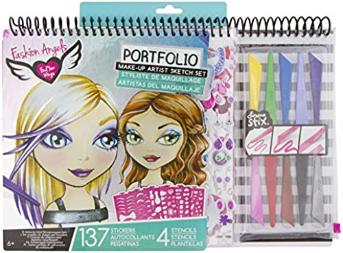 Unbekannt Fashion Angels Make-up Artist Sketch Portfolio-Set