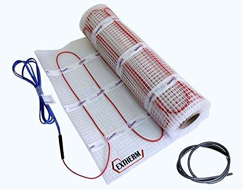 Extherm TWIN-Heizkabelmatte elektrische Fußbodenheizung 150 W/m² 4.5 m²