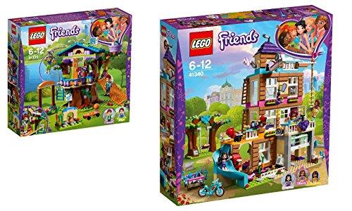 LEGO Friends 2er Set: 41335 Mias Baumhaus + 41340 Freundschaftshaus