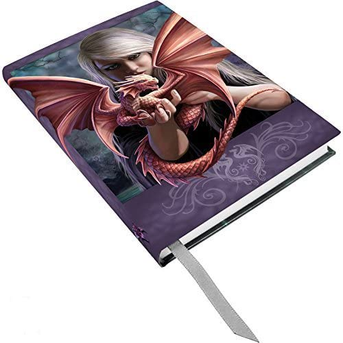 Anne Stokes Once Dragonkin Fairy Dragon Bond Hard Cover Embossed Journal Book by ATL by ATL
