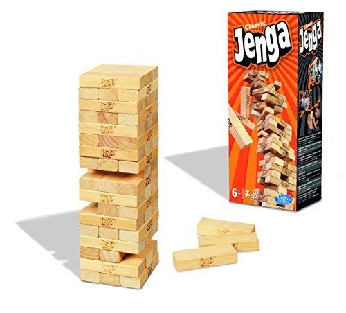 Games - Jenga (Hasbro A2120E24): Amazon.es: Juguetes y juegos