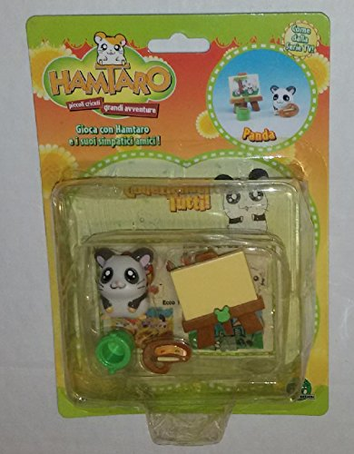 Hamtaro Mini Figure Set Panda Giochi Preziosi