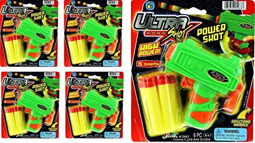 JA-RU Ultra Foam Dart Gun Super Mega Powerful Shotgun Blaster Shot Handgun for Kids and Adults Great...