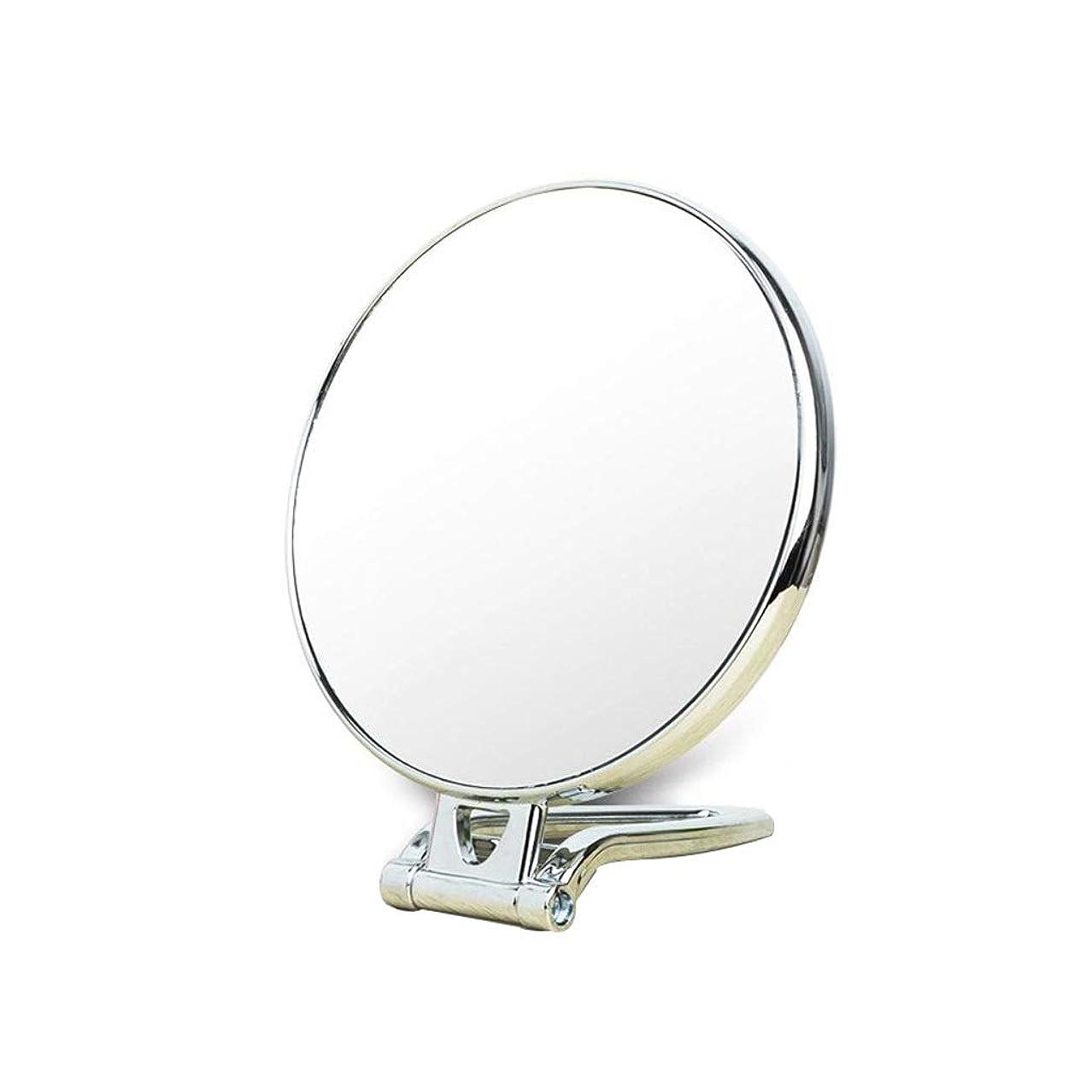 重くする牧師空Miaoliangliang 化粧化粧台、1倍/ 3倍倍率両面拡大鏡 - ハンドヘルド - 壁 - デスクトップ - 化粧鏡