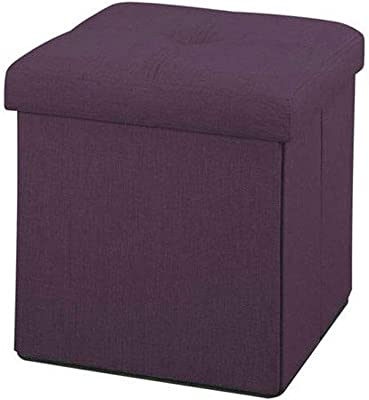 Admirable Amazon Com Nisuns Ot01 Leather Folding Storage Ottoman Cube Alphanode Cool Chair Designs And Ideas Alphanodeonline