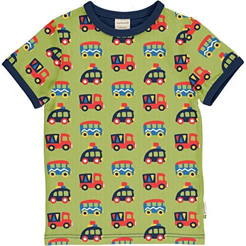 Maxomorra T-Shirt Kurz Colourful Cars 98/104