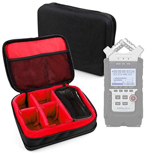 Duragadget - Custodia protettiva in EVA per il trasporto, compatibile con Zoom H1 | H2N | H4n Pro | H5 & H6 Voice Recorders