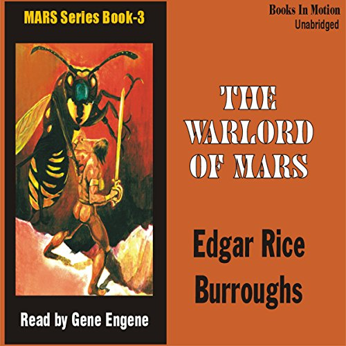 The Warlords of Mars cover art