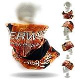 Feuerwehr Maske Multifunktionstuch Schlauchtuch Bandana Loop Schal Halstuch Feuerwehrmundschutz Firefighter Feuerwehrdienst Mütze Stirnband Schutzausrüstung Mundschutz für Feuerwehr