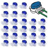 40 piezas de conectores de cable accesorios para robot cortacésped, conector impermeable para cortacésped Husqvarna y Gardena