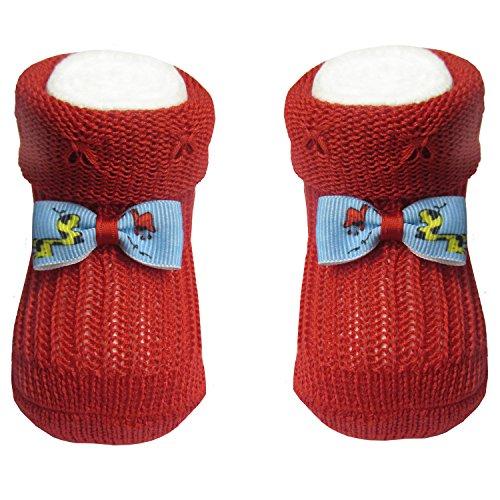 Bianchi Sockmaker in Italy since 1932 Baby Mädchen (0-24 Monate) Socken rot rot Einheitsgröße
