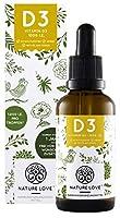 Veganes Vitamin D3 - 25ml (850 Tropfen) - 1000 I.E. pro Tropfen - In MCT-Öl aus Kokos & gewonnen aus Flechten
