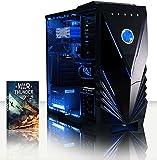 Vibox VBX-PC-00598 Panoramic 6 Gaming - Ordenador de sobremesa (Intel Core i5 4460, 16 GB de RAM, Disco Duro de 3 TB, NVIDIA Geforce GT 730, sin Sistema operativo), Color Azul