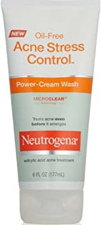 Neut Acne Pwr Crm Wsh Size 6z Neutrogena Acne Stress Control Power Cream Wash
