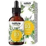 Vitamina D3 en gotas - 5.000 U.I. por 5 gotas - 75ml (2550 gotas) - Alta dosificación y alta bioactivdad - En aceite de MCT de coco - Sin aditivos - Producido en Alemania
