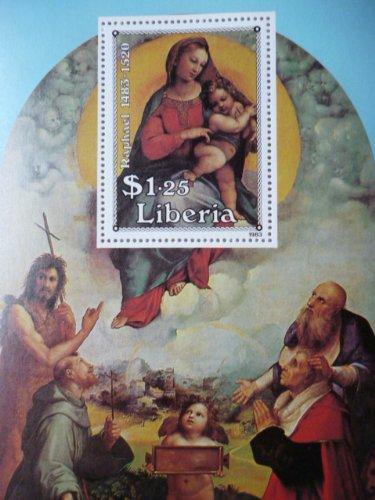 リベリア『聖母マリア/キリスト』(ラファエロ)