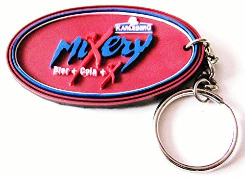 Karlsberg - Mixery Schlüsselanhänger aus Gummi 75 x 43 mm