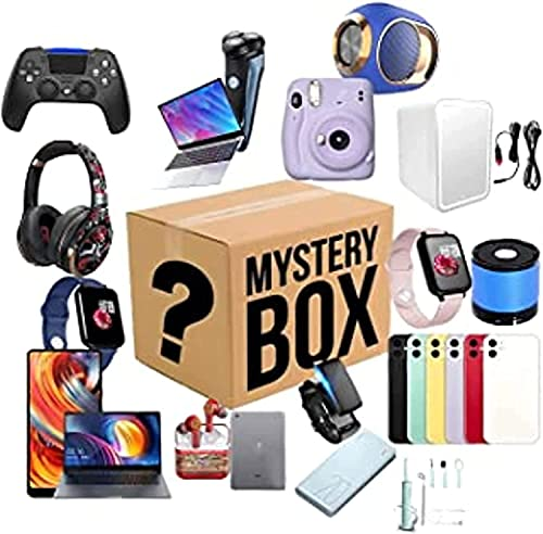 GDICONIC Scatola cieca Luckys Boxs,Surprises boxs,Birthday Gift,Mysterys Blinds Boxs(Electronic Equipment),Super Costeffective,There is A Chance to Open:Such As Drones,Watches,Gamepads Ect.Believe Eve