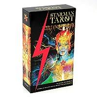 78カードデッキスターマンタロットダビデデアンジェリス熱心に期待されたタロットキットEガイドブック初心者向けの占いブックセットゲームカード