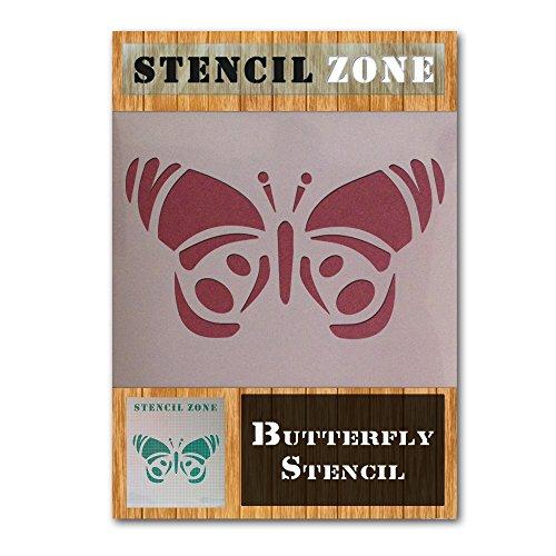 Schmetterling Mylar Airbrush Malerei Wand-Kunst-Schablone 3 (A4 Größe Stencil - Small)