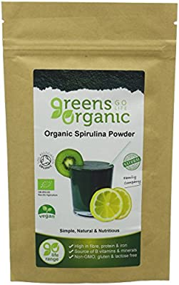 Greens Organic 100 g Spirulina Powder by Greens Organic