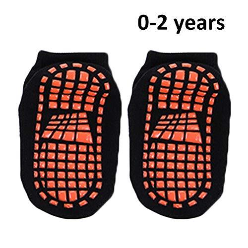 ZQHWH Kinder Polyester Baumwolle Anti Skid Socken Trampolin Socken Erwachsene bequem tragen non Slip Sport Socken