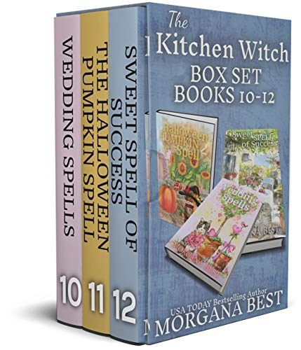 The Kitchen Witch: Box Set: Books 10 - 12: Cozy Mystery Series (The Kitchen Witch Series Boxset Book 4)