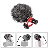 XCSOURCE Condenser Microphone Universal Compact Video Mic Recording Compatible for DSLR Camera DC838