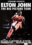 Elton John - The Big Picture 1998 - Poster Plakat