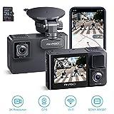 Best Dual Dash Cams - AKASO 2K Dual Dash Cam Built-in WiFi Review