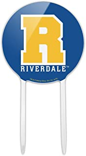 GRAPHICS & MORE Acrylic Riverdale Varsity Letter Cake Topper Party Decoration for Wedding Anniversary Birthday Graduation