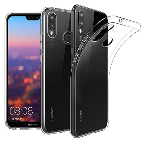 EasyAcc Case for Huawei P20 Lite, Soft TPU Crystal...