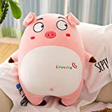 FFDGHB Pink Pig Pillow Doll Peluches Expression Pig Pillow Soft Toy Filling Doll 85Cm