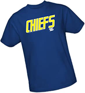 Chiefs Logo - Slap Shot Adult T-Shirt
