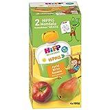 HiPP Apfel-Birne-Banane, Affe, 4er Pack (4 x 100 g) -